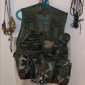 Kids Camo Tactical Vest